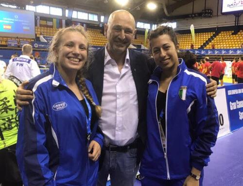 Laura Bugo e Barbara Cerchier medaglia d'argento